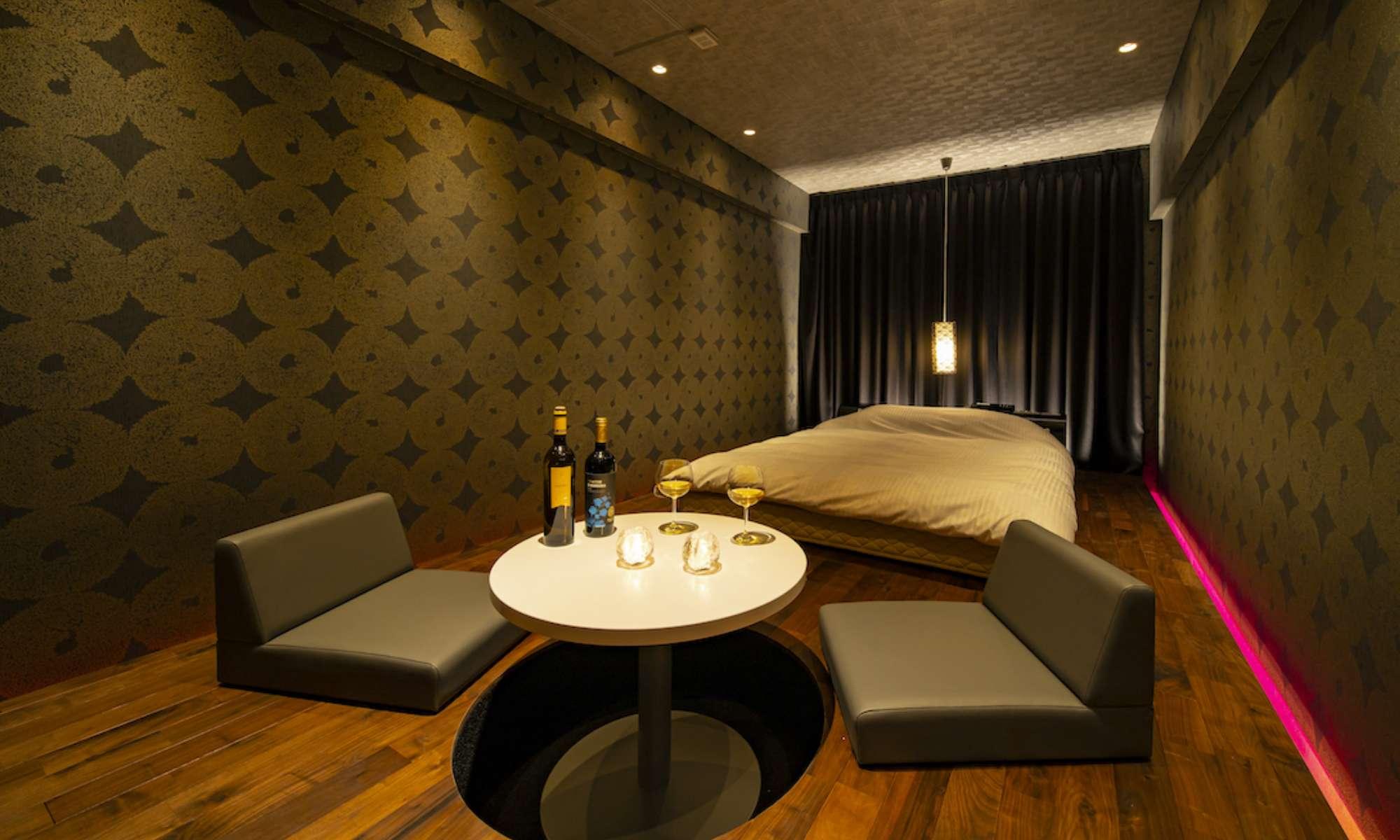 FUTARINO HOTEL(ふたりのホテル)Room119